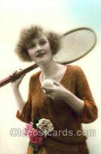 spo024385 - Tennis, Old Vintage Antique, Post Card Postcard