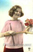 spo024386 - Tennis, Old Vintage Antique, Post Card Postcard
