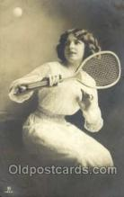 spo024391 - Tennis, Old Vintage Antique, Post Card Postcard