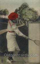 spo024397 - Tennis, Old Vintage Antique, Post Card Postcard