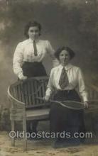 spo024400 - Tennis, Old Vintage Antique, Post Card Postcard