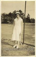 spo024403 - Tennis, Old Vintage Antique, Post Card Postcard