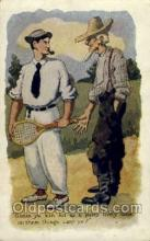 spo024407 - Tennis, Old Vintage Antique, Post Card Postcard