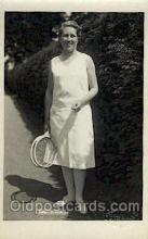spo024425 - MME. Bordes Tennis, Old Vintage Antique, Post Card Postcard