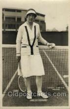 spo024428 - Mrs. JC Stephens Tennis, Old Vintage Antique, Post Card Postcard