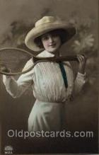 spo024450 - Tennis, Old Vintage Antique, Post Card Postcard