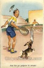 spo024461 - Serie No. 805 Tennis, Old Vintage Antique, Post Card Postcard