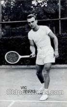 spo024470 - Vic Seixas Tennis, Old Vintage Antique, Post Card Postcard