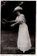 spo024471 - Miss Certie Millar Tennis, Old Vintage Antique, Post Card Postcard