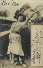 spo024477 - Tennis, Old Vintage Antique, Post Card Postcard