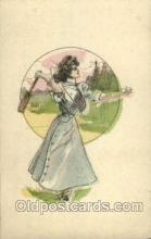 spo024480 - Tennis, Old Vintage Antique, Post Card Postcard