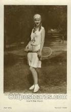 spo024486 - Camilla Horn, Atelier Schrecker, Berlin Phot. Tennis, Old Vintage Antique, Post Card Postcard