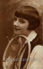 spo024487 - Tennis, Old Vintage Antique, Post Card Postcard
