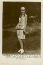 spo024492 - Camilla Horn, Atelier Schrecker, Berlin Phot. Tennis, Old Vintage Antique, Post Card Postcard