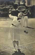 spo024498 - Tennis, Old Vintage Antique, Post Card Postcard