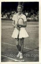 spo024501 - MRS. L.A. Hoad Tennis, Old Vintage Antique, Post Card Postcard