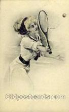 spo024506 - Tennis, Old Vintage Antique, Post Card Postcard