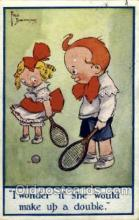 spo024510 - Faso Bmchamami Tennis, Old Vintage Antique, Post Card Postcard