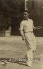 spo024520 - Tennis, Old Vintage Antique, Post Card Postcard