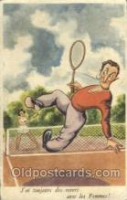 spo024527 - M.D. Paris, No. 180 Tennis, Old Vintage Antique, Post Card Postcard