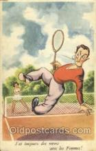spo024528 - M.D. Paris, No. 180 Tennis, Old Vintage Antique, Post Card Postcard
