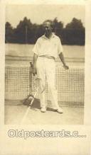 spo024533 - Tennis, Old Vintage Antique, Post Card Postcard
