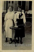 spo024540 - Tennis, Old Vintage Antique, Post Card Postcard
