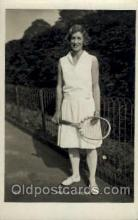 spo024541 - E.L. Colyer Tennis, Old Vintage Antique, Post Card Postcard