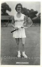 spo024547 - S.J. Bloomer Tennis, Old Vintage Antique, Post Card Postcard