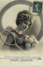spo024549 - Tennis, Old Vintage Antique, Post Card Postcard