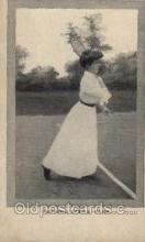 spo024555 - Tennis, Old Vintage Antique, Post Card Postcard