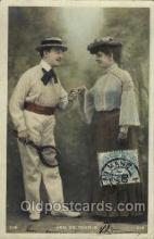 spo024557 - Tennis, Old Vintage Antique, Post Card Postcard