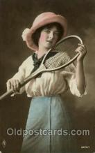 spo024560 - Tennis, Old Vintage Antique, Post Card Postcard
