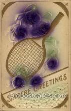 spo024565 - Tennis, Old Vintage Antique, Post Card Postcard