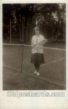 spo024572 - Tennis, Old Vintage Antique, Post Card Postcard