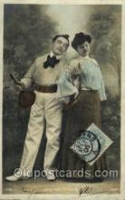 spo024578 - Tennis, Old Vintage Antique, Post Card Postcard