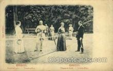 spo024589 - Elisabeth-Park, Tennis-Platz Tennis, Old Vintage Antique, Post Card Postcard