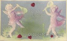 spo024592 - Tennis, Old Vintage Antique, Post Card Postcard