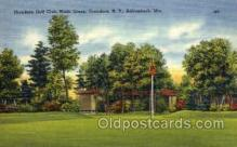 spo024594 - Thendara Golf Club, Ninth Green, Thendara, N.Y., Adirondack, Mts Tennis, Old Vintage Antique, Post Card Postcard
