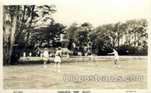 spo024595 - Crablands Park. Selsey Chichester West Sussex, UK Tennis, Old Vintage Antique, Post Card Postcard