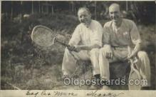spo024596 - Tennis, Old Vintage Antique, Post Card Postcard