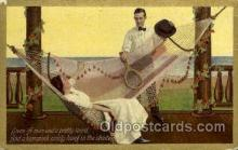 spo024609 - Hammook series, No. 207 Tennis, Old Vintage Antique, Post Card Postcard