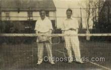 spo024610 - Tennis, Old Vintage Antique, Post Card Postcard