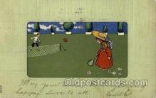 spo024614 - Ser. 562 Tennis, Old Vintage Antique, Post Card Postcard