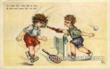 spo024630 - Tennis, Old Vintage Antique, Post Card Postcard