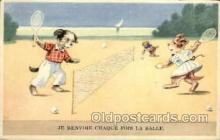 spo024633 - Tennis, Old Vintage Antique, Post Card Postcard