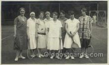 spo024636 - Tennis, Old Vintage Antique, Post Card Postcard