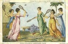 spo024647 - Belle Jardiniere, Paris Tennis, Old Vintage Antique, Post Card Postcard