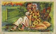 spo024648 - C-41, 6A-H1761 Tennis, Old Vintage Antique, Post Card Postcard