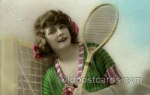 spo024655 - France Tennis, Old Vintage Antique, Post Card Postcard